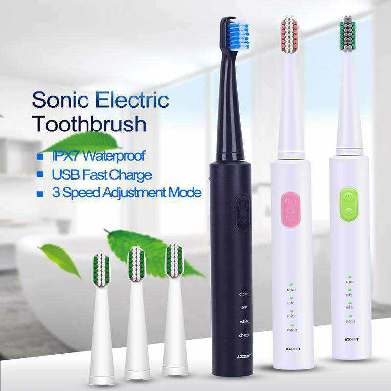 Pro Sonic™ Electric Toothbrush - USB Rechargable-Gadgets-NEthing Store