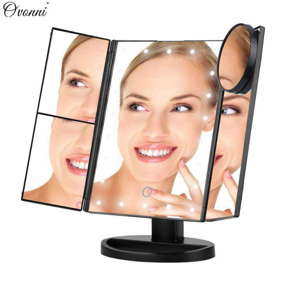 Vanity Professional LED Makeup Mirror - Up to 10X Magnification-Women's Fashion-NEthing Store
