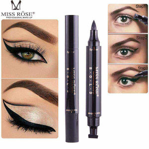 2 in 1 Liquid Eyeliner with Wing Stamp-Women's Fashion-NEthing Store