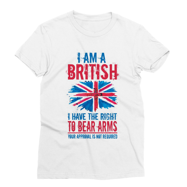 British White Sublimation T-Shirt