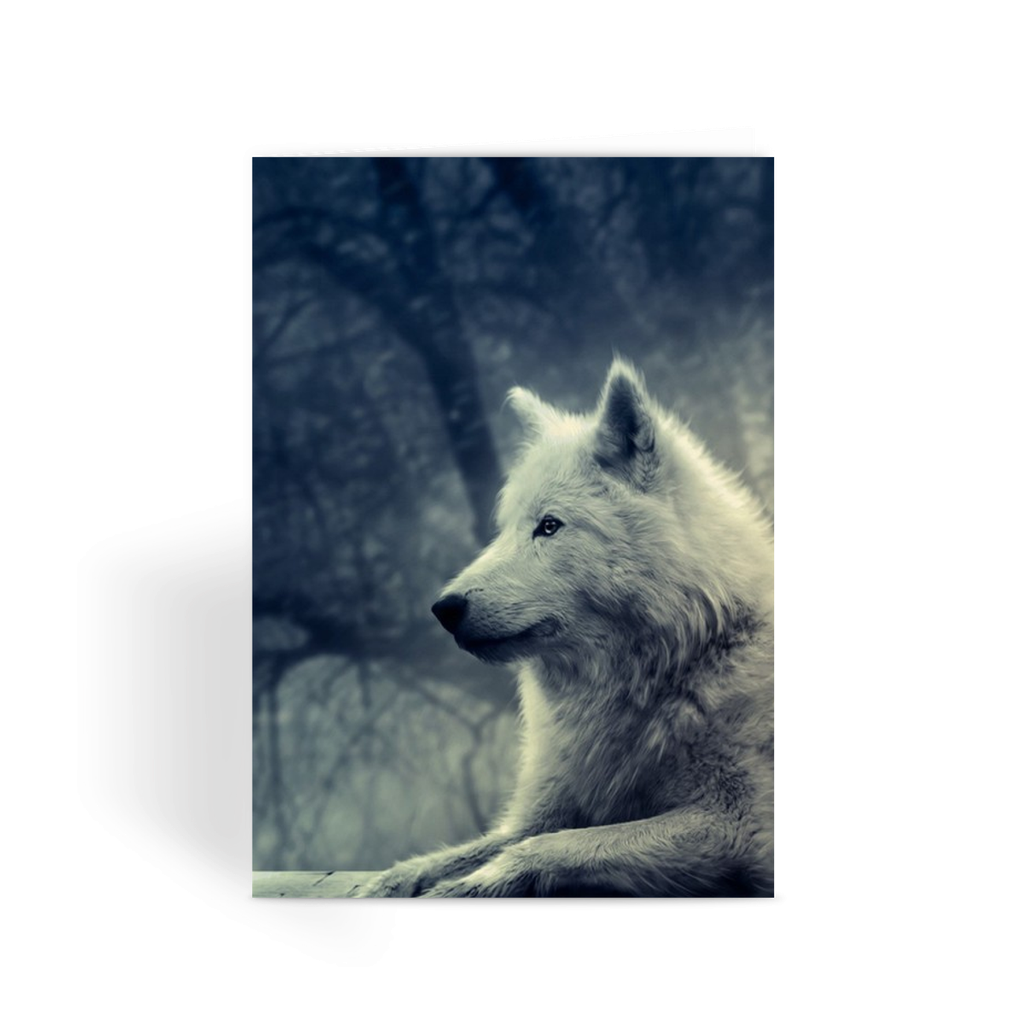 Wolf collection Greeting Card