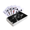 Elvis Presley Black Leather Playing Cards