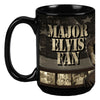 Major Elvis Fan Coffee Mug