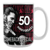 68 Special 50th Anniversary Black Leather Coffee Mug