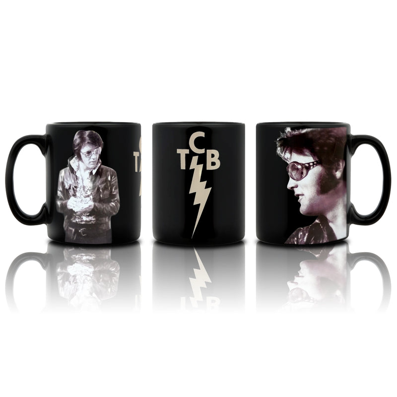 e1ca6456b77 Elvis Presley TCB Shades Collage Coffee Mug - Graceland Official Store