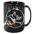 68 Special 50th Anniversary Black Leather Round Coffee Mug