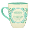 Graceland Aqua Delft Coffee Mug