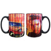 Elvis Presley's Graceland Pink Classic Car Coffee Mug