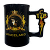 Elvis Graceland TCB Handle Coffee Mug