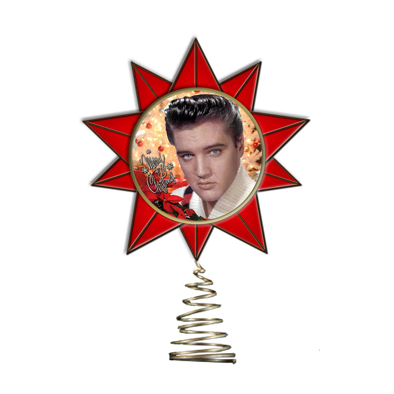 8874ddbf1a82f Christmas With Elvis Tree Topper - Graceland Official Store