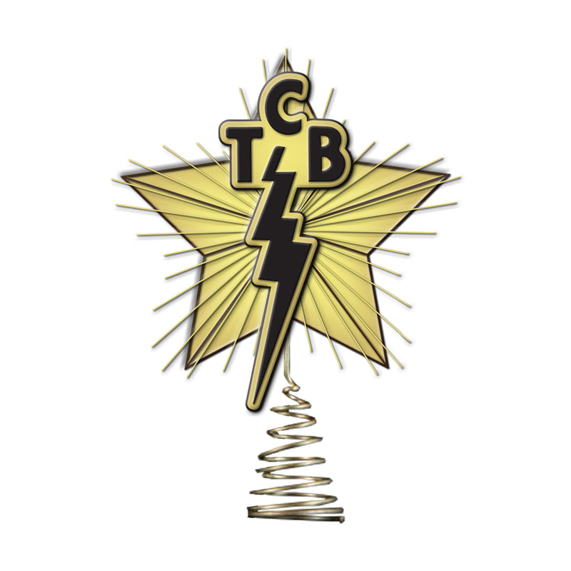 TCB Tree Topper - TCB Tree Topper - Graceland Official Store