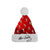 Elvis Presley Signature Silhouette Red Santa Hat