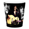 ELVIS Black Suit Collage Shot Glass