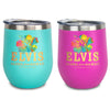 Elvis Aloha From Hawaii Stainless Wine Tumbler
