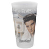 Where Elvis Lives Frosted Pint Glass