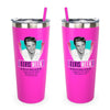 2018 Elvis Week Stainless Straw Tumbler Pink