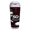 68 Special 50th Anniversary Black Leather Glitter Travel Tumbler