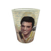 Elvis Graceland Guitar Watercolor Shot Glass