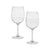 Sketched Graceland Mansion Wine Glass