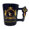 Elvis Graceland TCB Handle Shot Glass