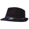 Elvis Presley Signature Blue Plaid Fedora