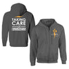 TCB Taking Care of Business Zip Hoodie