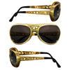 Elvis Presley TCB Gold Sunglasses
