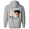 Where Elvis Lives Zip Hoodie