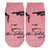 Elvis Presley Pink Profile Signature Sock