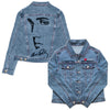 I Heart Elvis Profile Women's Denim Jacket