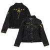 TCB Studded Women's Denim Jacket