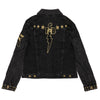 TCB Studded Women's Denim Jacket back