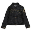 TCB Studded Women's Denim Jacket front