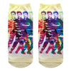 Elvis Jailhouse Rock Pop Color Low Cut Socks
