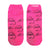 Repeat Elvis Signature Pink Low Cut Socks