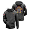 Graceland Air Zip Hoodie Charcoal