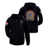 Graceland Air Zip Hoodie Navy
