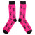 Repeat TCB Pink Crew Socks