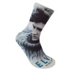 Elvis Blue Sweater Sublimated Socks