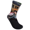 Elvis Pink Classic Car Graceland Sublimated Socks