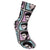 Elvis 50's Portrait Repeat Sublimated Socks