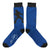 Elvis Silhouette Signature Navy Trouser Socks