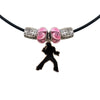 Elvis Silhouette Charm Necklace