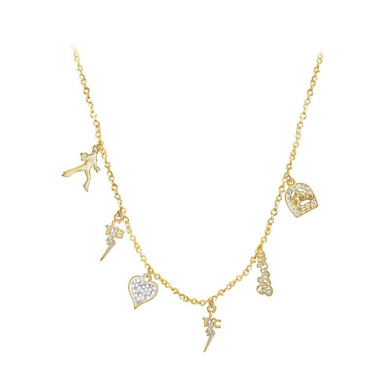 e049ad4cc1739 Lowell Hays Gold Plated Charm Necklace