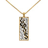 Lowell Hays Gold Plated Elvis Aloha Necklace