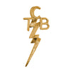 Lowell Hays Gold Plated TCB Pendant