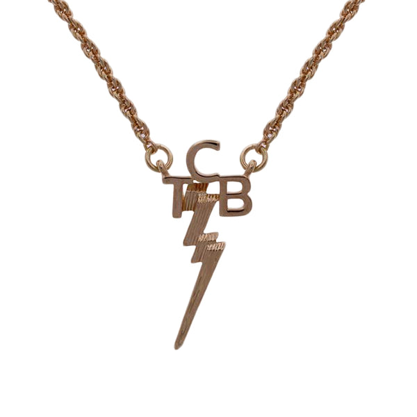 Lowell Hays Gold Plated Tcb Necklace Graceland Official