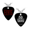 ELVIS 50th Anniversary 68 Special Guitar Pick Necklace