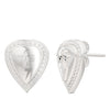 Bixler Sterling Silver TCB Pick Earrings