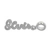 Lowell Hays Sterling Silver Elvis Signature Bead Charm